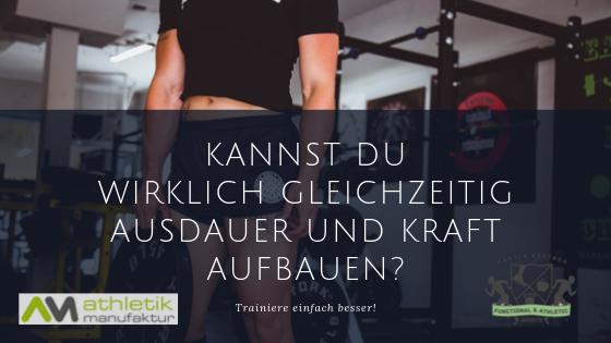 Kraft & Ausdauer Training