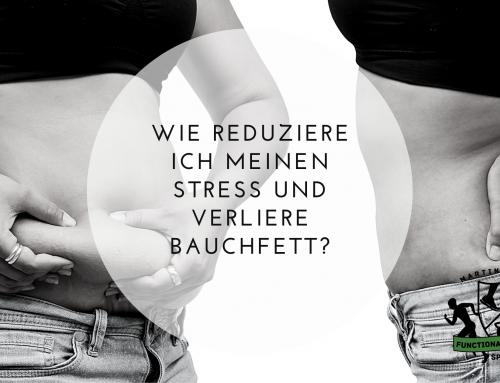 Wie reduziere ich meinen Stress und verliere Bauchfett?