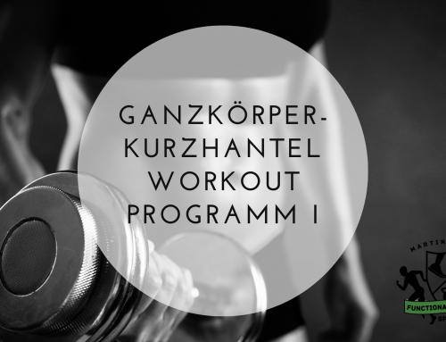 Ganzkörper-Kurzhantel Workout Programm I